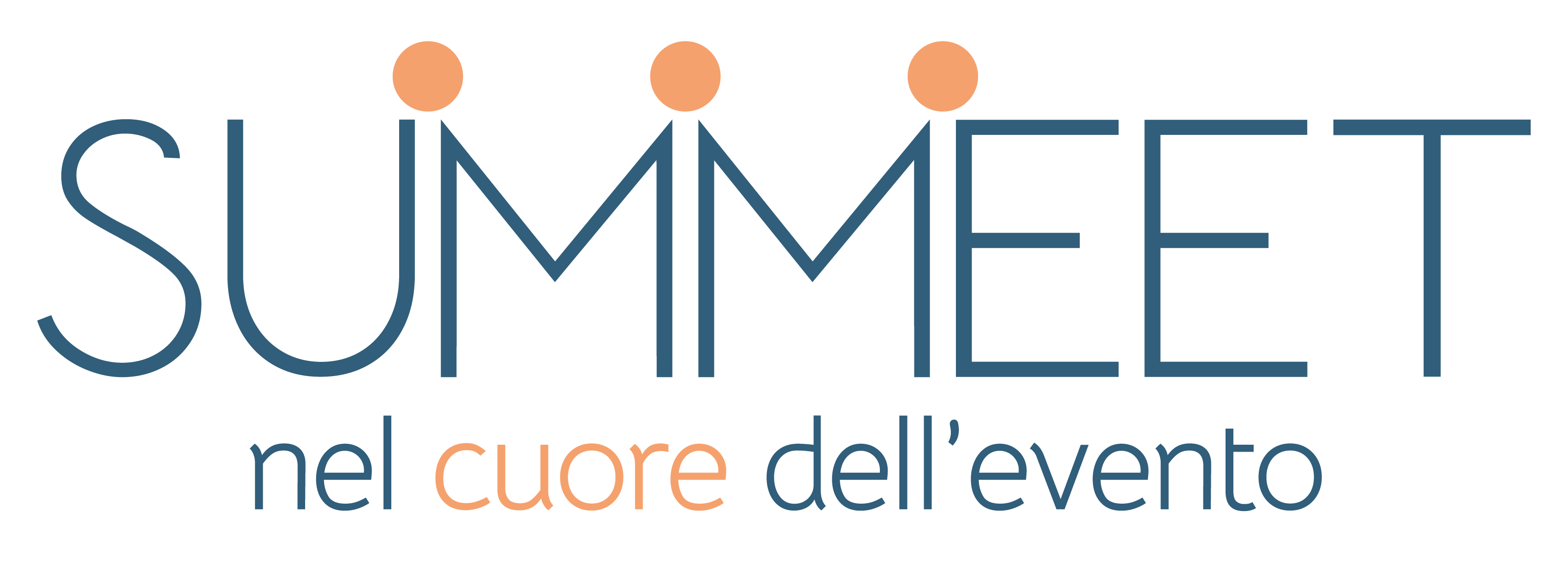 Immagine pay off con logo Summeet 2021